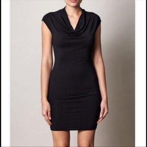 Helmut Nova Jersey cowl neck dress